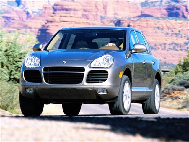 Highest Horsepower SUVs of 2004 - 2004 Porsche Cayenne
