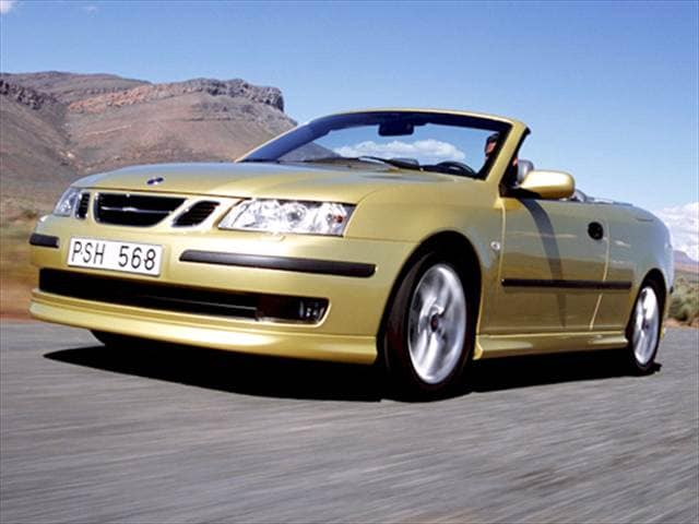 Most Popular Convertibles of 2004 - 2004 Saab 9-3