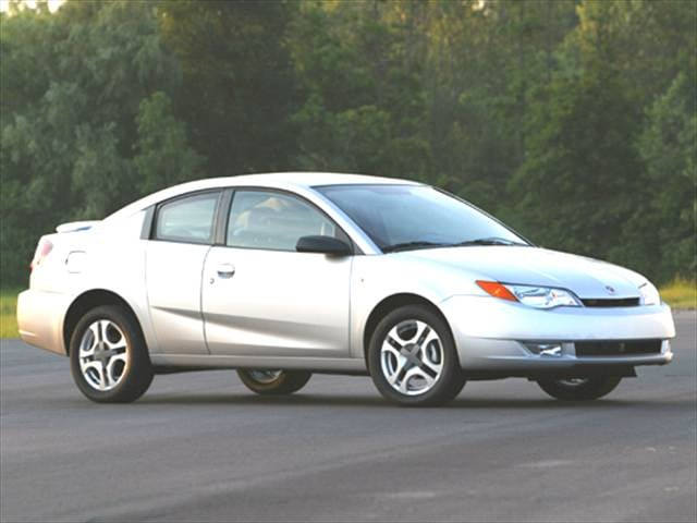 Most Fuel Efficient Coupes of 2004 - 2004 Saturn Ion