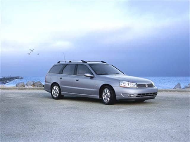 Most Fuel Efficient Wagons of 2004 - 2004 Saturn L-Series