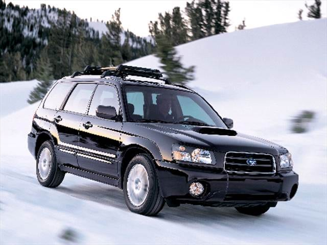 Most Fuel Efficient SUVs of 2004 - 2004 Subaru Forester