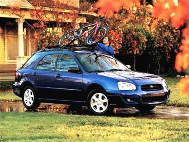 Most Popular Wagons of 2004 - 2004 Subaru Impreza