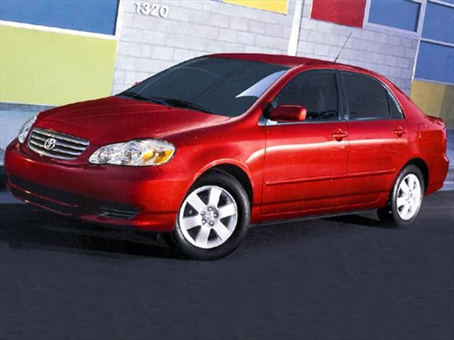Most Popular Sedans of 2004 - 2004 Toyota Corolla