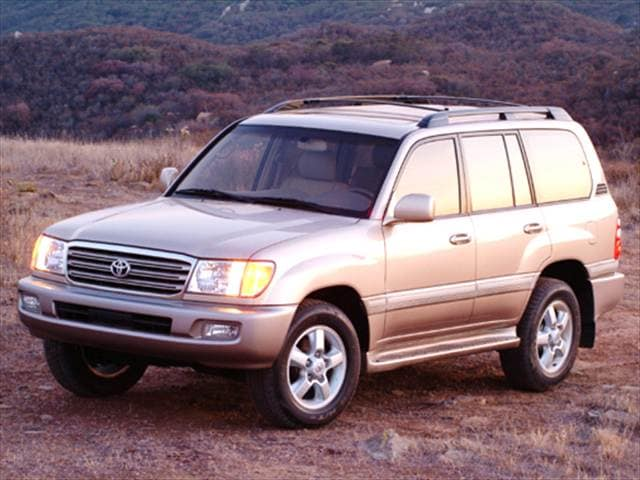 Top Consumer Rated Luxury Vehicles of 2004 - 2004 Toyota Land Cruiser
