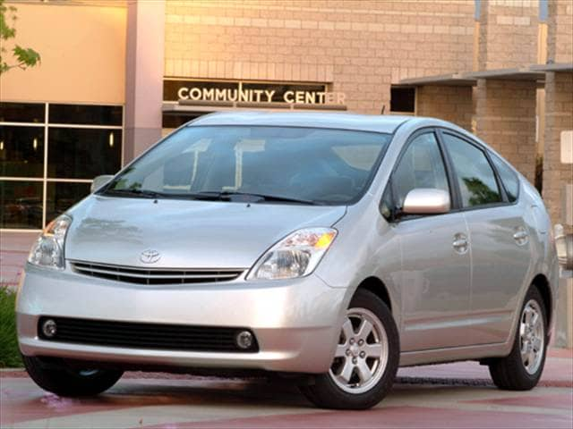 Top Consumer Rated Hatchbacks of 2004 - 2004 Toyota Prius