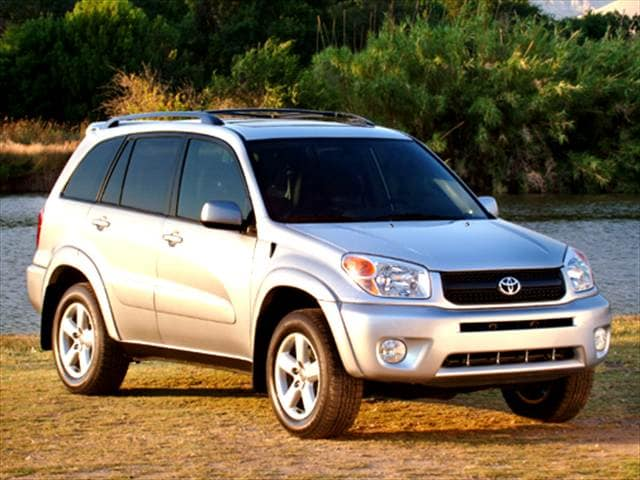 Top Consumer Rated SUVs of 2004 - 2004 Toyota RAV4