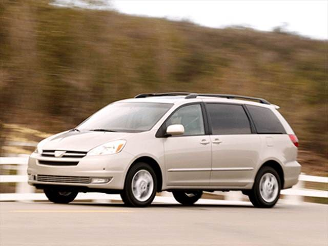 Top Consumer Rated Vans/Minivans of 2004 - 2004 Toyota Sienna