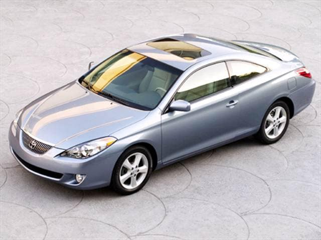 Top Consumer Rated Coupes of 2004 - 2004 Toyota Solara