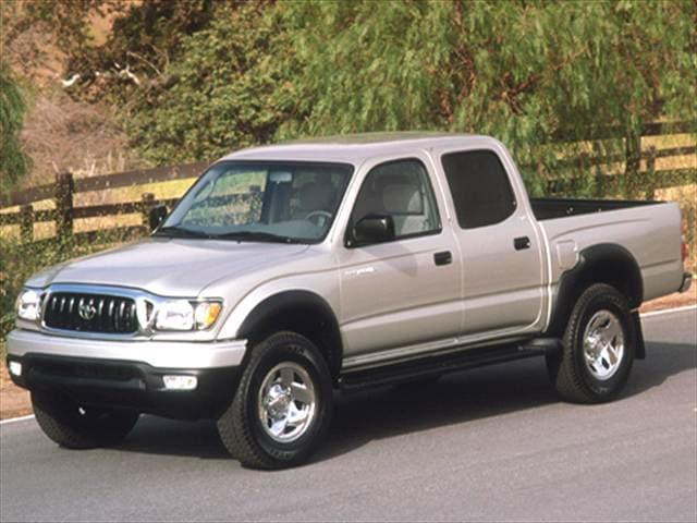 Top Consumer Rated Trucks of 2004 - 2004 Toyota Tacoma Double Cab