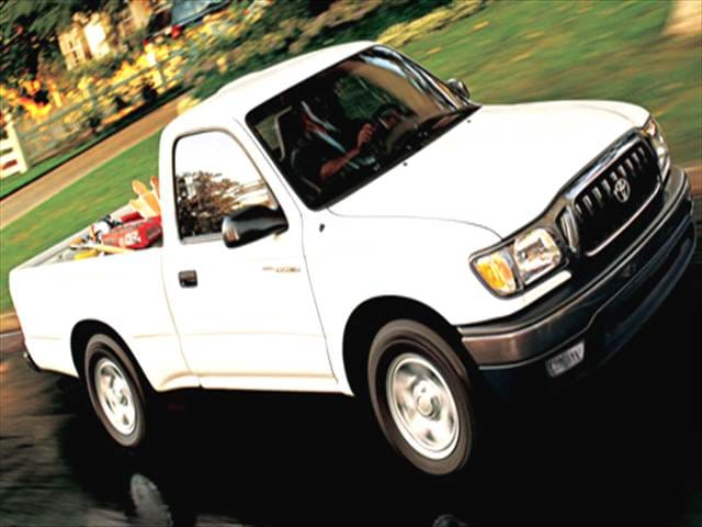 Most Fuel Efficient Trucks of 2004 - 2004 Toyota Tacoma Regular Cab