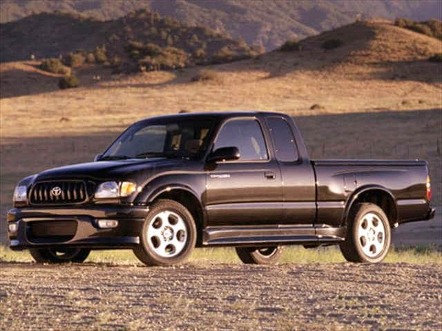 Top Consumer Rated Trucks of 2004 - 2004 Toyota Tacoma Xtracab