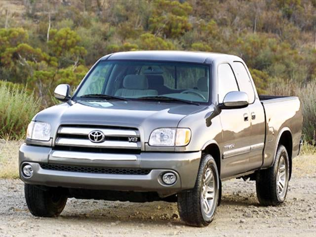 Top Consumer Rated Trucks of 2004 - 2004 Toyota Tundra Access Cab