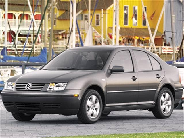Most Popular Sedans of 2004 - 2004 Volkswagen Jetta