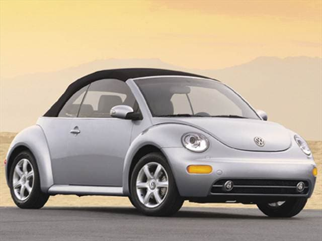 Most Popular Convertibles of 2004 - 2004 Volkswagen New Beetle