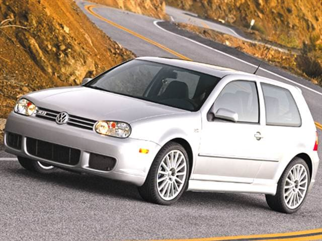 Top Consumer Rated Coupes of 2004 - 2004 Volkswagen R32