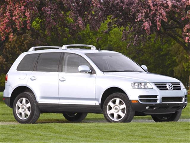 Highest Horsepower Crossovers of 2004 - 2004 Volkswagen Touareg