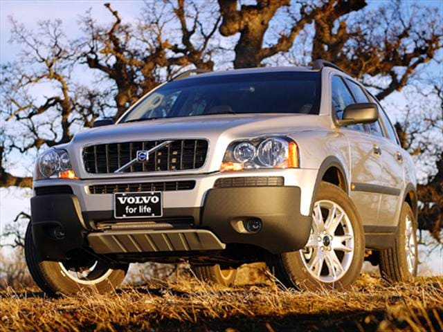 Highest Horsepower Crossovers of 2004 - 2004 Volvo XC90