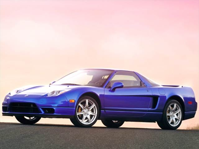 Top Consumer Rated Luxury Vehicles of 2005 - 2005 Acura NSX