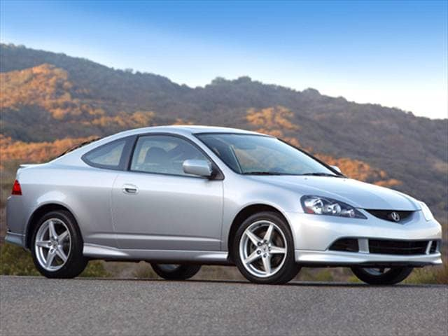 Highest Horsepower Hatchbacks of 2005 - 2005 Acura RSX