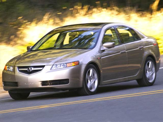 Top Consumer Rated Sedans of 2005 - 2005 Acura TL