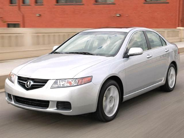 Top Consumer Rated Sedans of 2005 - 2005 Acura TSX
