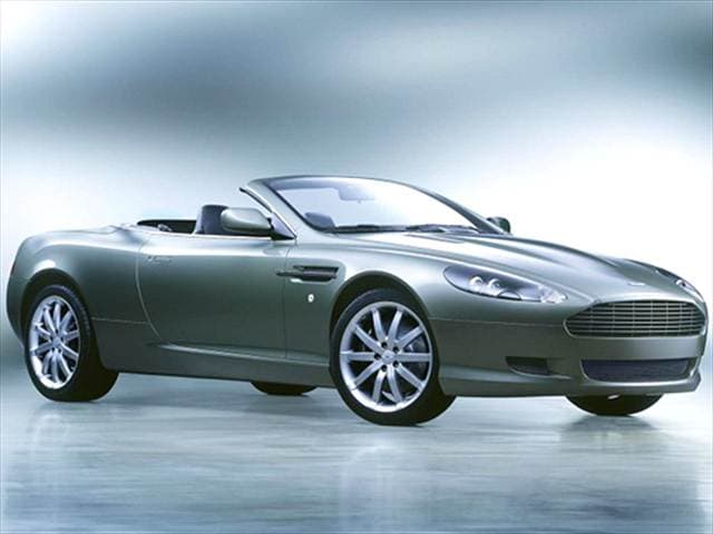 Highest Horsepower Convertibles of 2005 - 2005 Aston Martin DB9