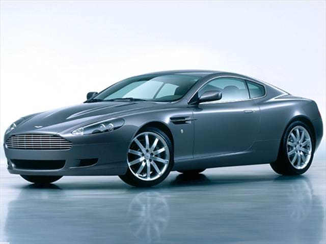 Highest Horsepower Coupes of 2005 - 2005 Aston Martin DB9