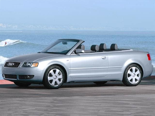 Most Fuel Efficient Convertibles of 2005 - 2005 Audi A4