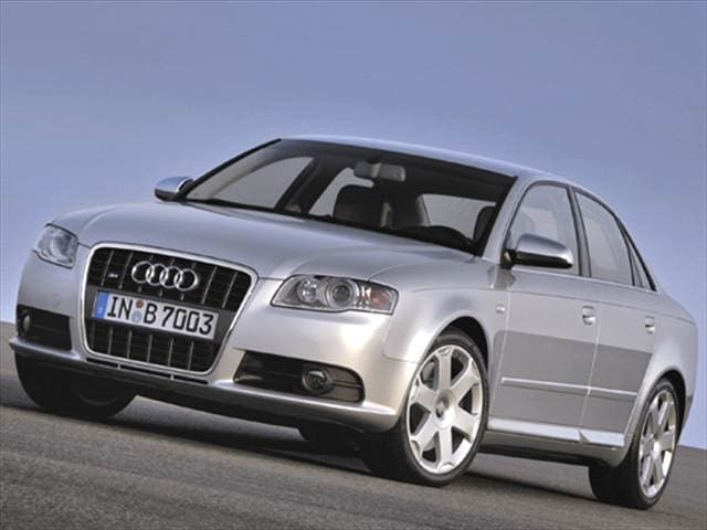 Top Consumer Rated Sedans of 2005 - 2005 Audi S4 (2005.5)