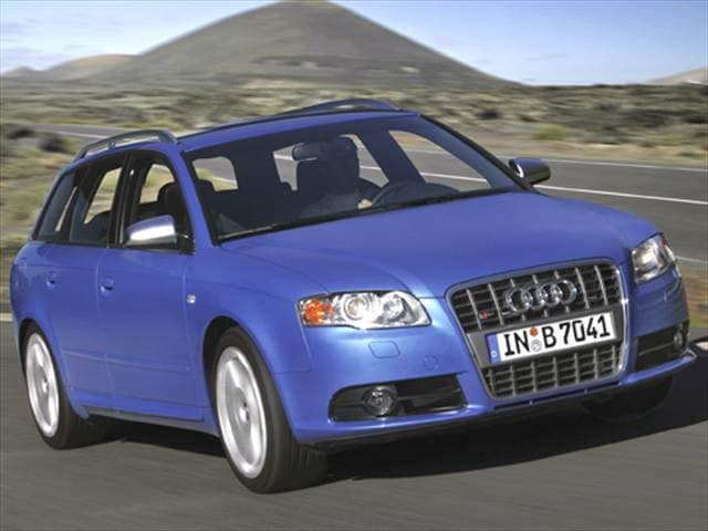 Highest Horsepower Wagons of 2005 - 2005 Audi S4 (2005.5)