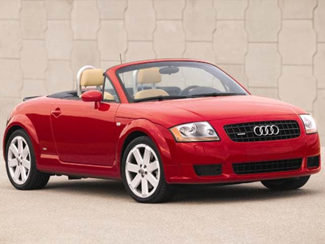 Most Fuel Efficient Convertibles of 2005 - 2005 Audi TT