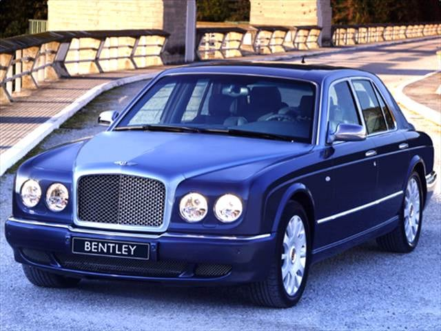 Highest Horsepower Sedans of 2005 - 2005 Bentley Arnage