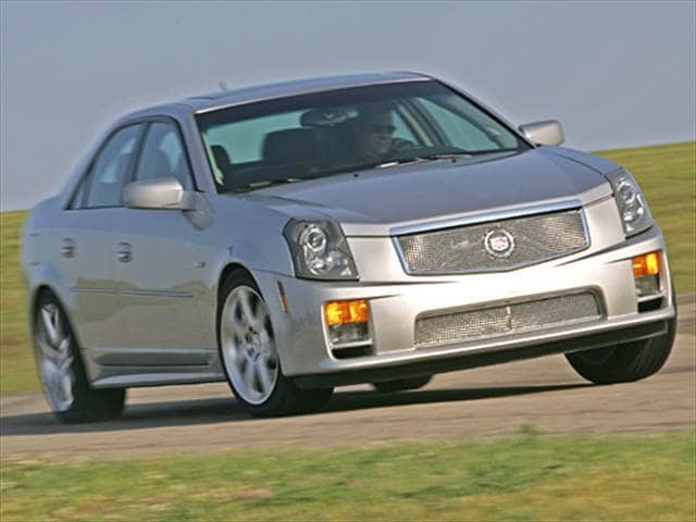 2005 Cadillac CTS-V Sedan 4D Used Car Prices