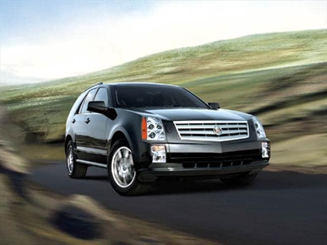 Highest Horsepower Crossovers of 2005 - 2005 Cadillac SRX