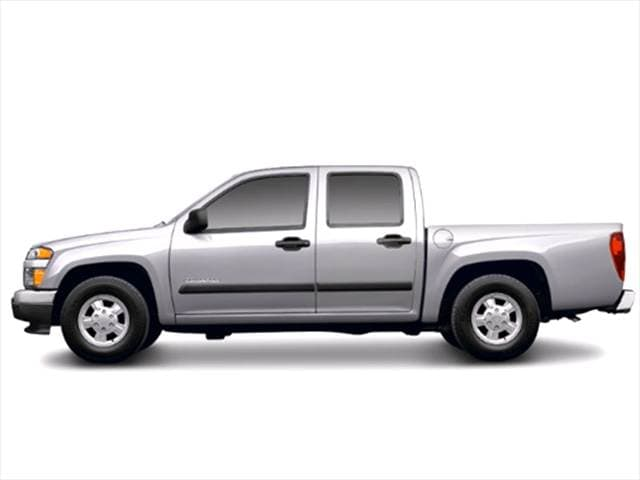 Most Fuel Efficient Trucks of 2005 - 2005 Chevrolet Colorado Crew Cab