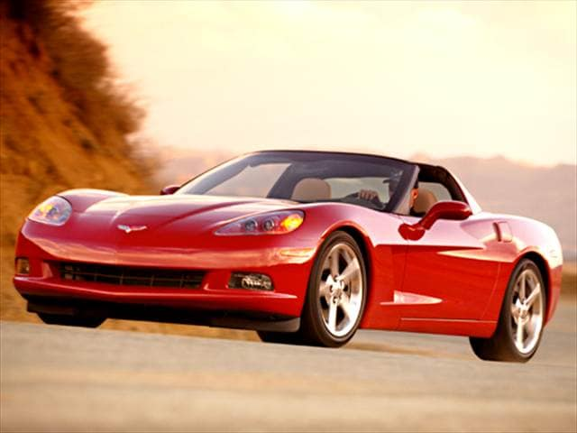 Highest Horsepower Hatchbacks of 2005 - 2005 Chevrolet Corvette