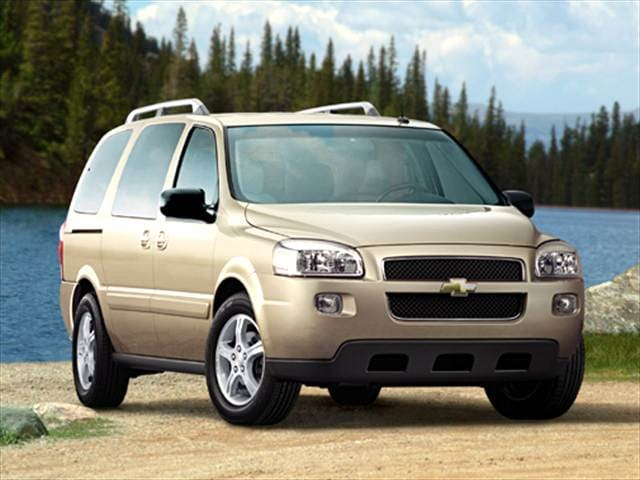 Most Fuel Efficient Vans/Minivans of 2005 - 2005 Chevrolet Uplander Passenger