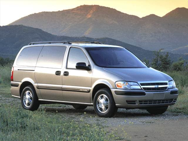 Most Fuel Efficient Vans/Minivans of 2005 - 2005 Chevrolet Venture Passenger