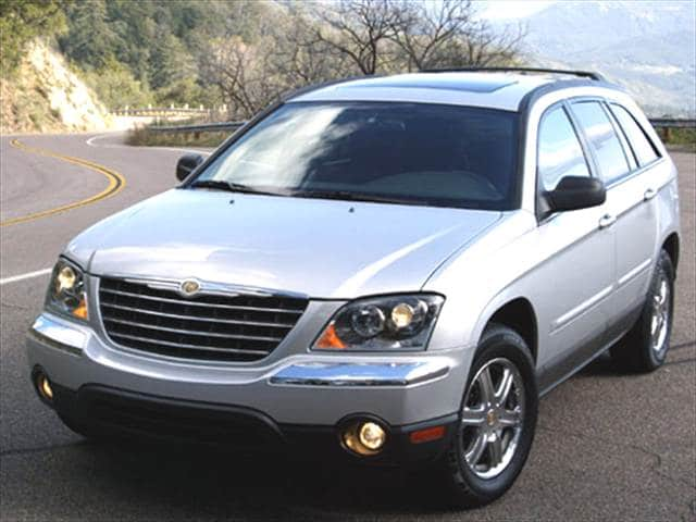 Most Popular Wagons of 2005 - 2005 Chrysler Pacifica