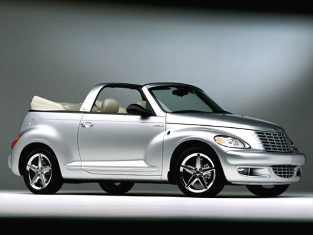 Most Fuel Efficient Convertibles of 2005 - 2005 Chrysler PT Cruiser