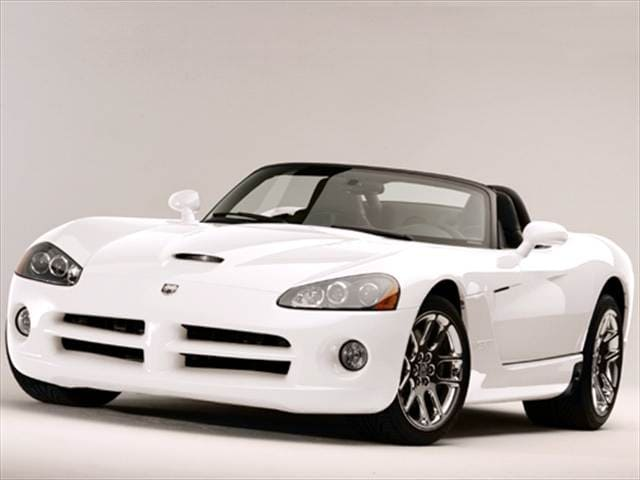 Highest Horsepower Convertibles of 2005 - 2005 Dodge Viper