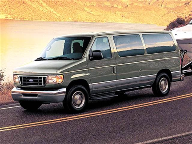 Top Consumer Rated Vans/Minivans of 2005 - 2005 Ford E350 Super Duty Passenger