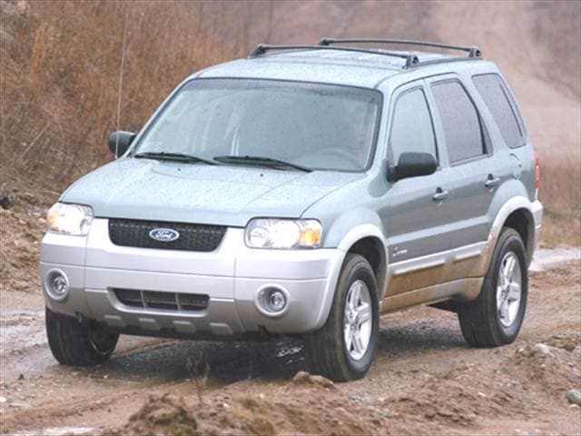 Most Popular Hybrids of 2005 - 2005 Ford Escape