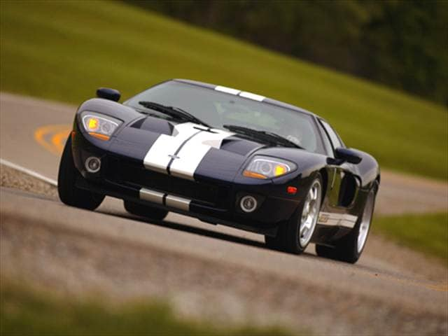 Highest Horsepower Coupes of 2005 - 2005 Ford GT