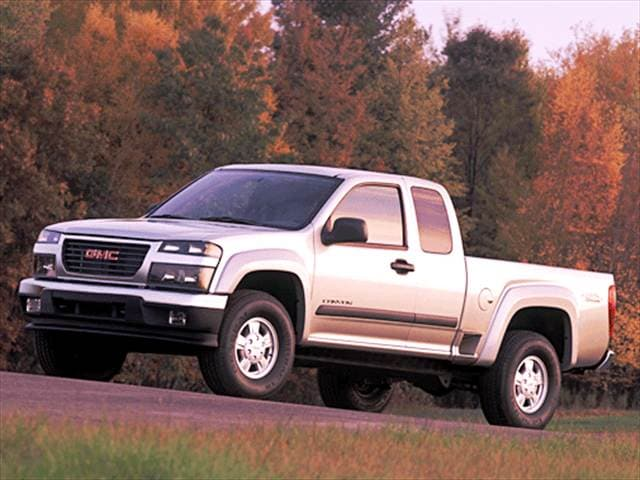 Most Fuel Efficient Trucks of 2005 - 2005 GMC Canyon Extended Cab