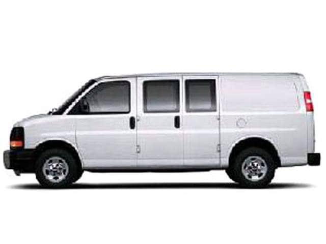 Top Consumer Rated Vans/Minivans of 2005 - 2005 GMC Savana 2500 Cargo