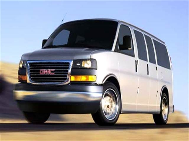 Top Consumer Rated Vans/Minivans of 2005 - 2005 GMC Savana 2500 Passenger