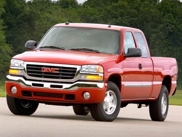 Top Consumer Rated Hybrids of 2005 - 2005 GMC Sierra 1500 Extended Cab