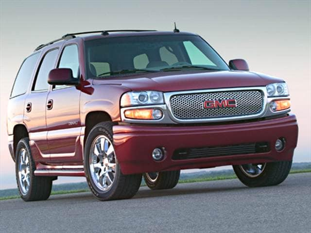 Highest Horsepower SUVs of 2005 - 2005 GMC Yukon