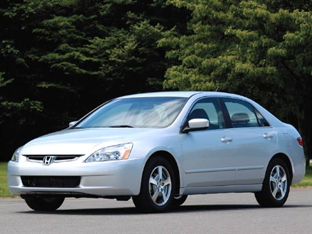 Top Consumer Rated Hybrids of 2005 - 2005 Honda Accord